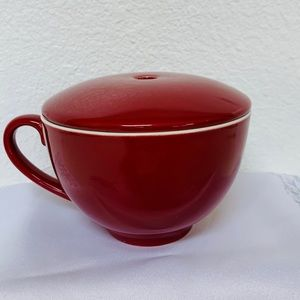 Tea Forte Red Tea Cup with Lid